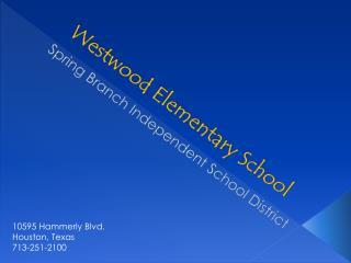 Westwood Elementary School