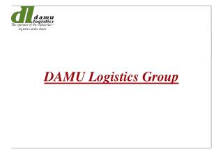 DAMU Logistics Group