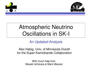 Atmospheric Neutrino Oscillations in SK-I