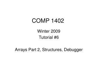 COMP 1402