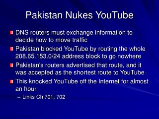 Pakistan Nukes YouTube