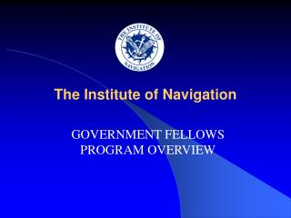 The Institute of Navigation