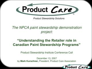 Product Stewardship Solutions