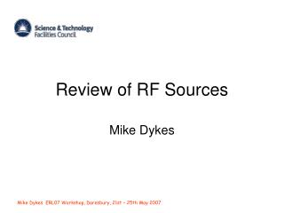 Review of RF Sources