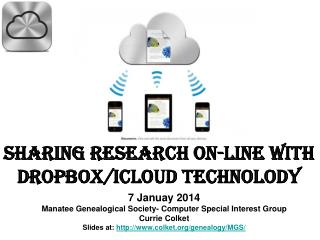Sharing Research On-Line with Dropbox/icloud Technolody