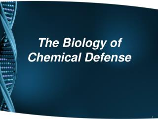 The Biology of Chemical Defense