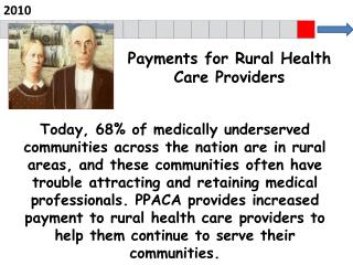 Payments for Rural Health Care  Providers
