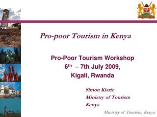 Pro-poor Tourism in Kenya