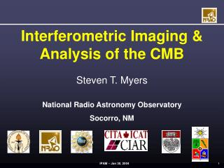 Interferometric Imaging & Analysis of the CMB