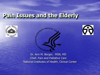 Pain Issues and the Elderly