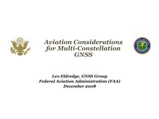Aviation Considerations for Multi-Constellation GNSS