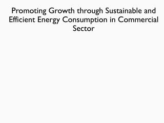 Energy Efficiency Portfolio