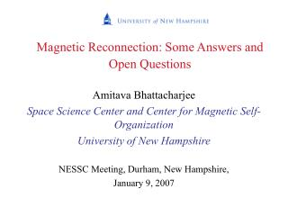Magnetic Reconnection: Some Answers and Open Questions