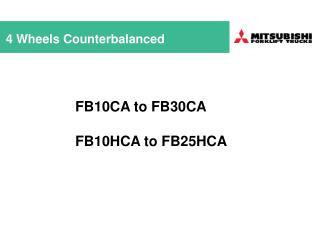 4 Wheels Counterbalanced
