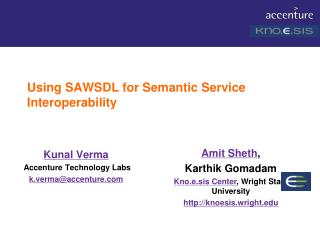 Using SAWSDL for Semantic Service Interoperability