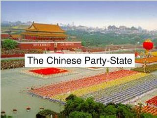 The Chinese Party-State