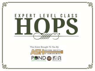 Evaluating hops