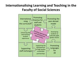 Internationalising Learning and Teaching in the Faculty of Social Sciences