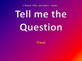 Helping Telemarketing Fraud Victims