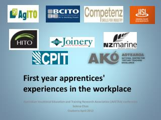 First year apprentices' experiences in the workplace