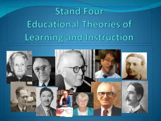Str Stand Four Educational Theories of Learning and Instruction