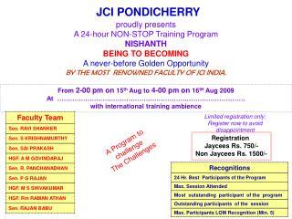 JCI PONDICHERRY