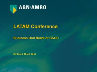 LATAM Conference