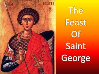 The Feast  Of Saint George