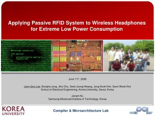 Applying Passive RFID System to Wireless Headphones for Extreme Low Power Consumption