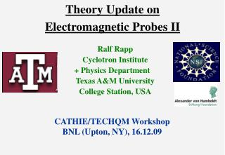 Theory Update on  Electromagnetic Probes II