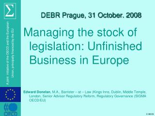 DEBR Prague, 31 October. 2008