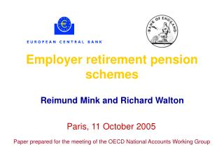 Employer retirement pension schemes