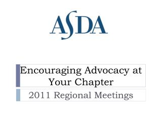 Encouraging Advocacy at Your Chapter