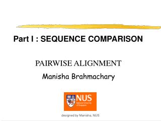 Part I : SEQUENCE COMPARISON