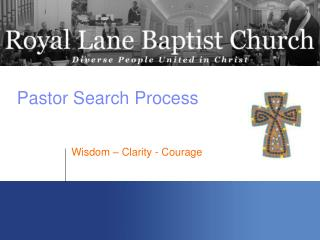 Pastor Search Process