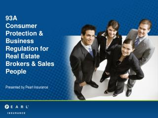 93A Consumer Protection & Business Regulation for Real Estate Brokers & Sales People