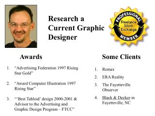 Research a Current Graphic Designer