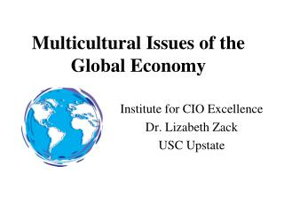 Multicultural Issues of the Global Economy