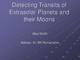 Detecting Transits of Extrasolar Planets and their Moons