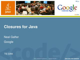 Closures for Java