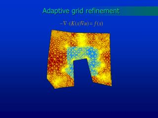Adaptive grid refinement