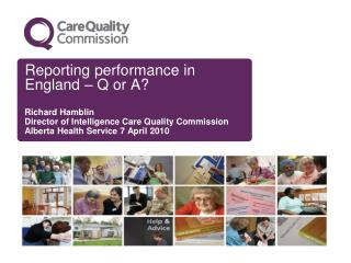 Reporting performance in England – Q or A?