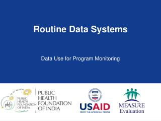 Routine Data Systems