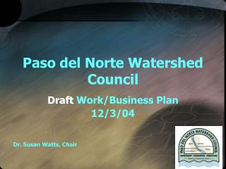 Paso del Norte Watershed Council