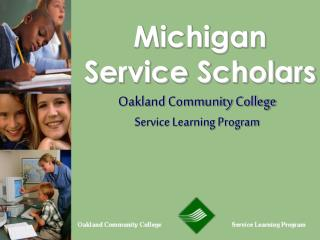 Michigan Service Scholars