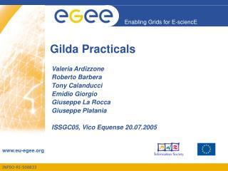 Gilda Practicals