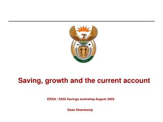 Saving, growth and the current account