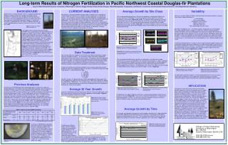 Long-term Results of Nitrogen Fertilization in Pacific Northwest Coastal Douglas-fir Plantations