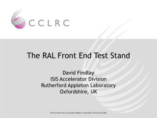 The RAL Front End Test Stand