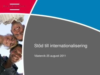 Stöd till internationalisering